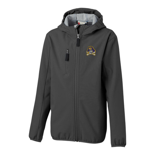Gray Youth ECU Full Zip Jacket
