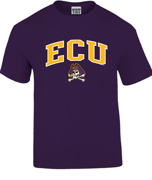 Purple Youth ECU Jolly Roger Arch Tee