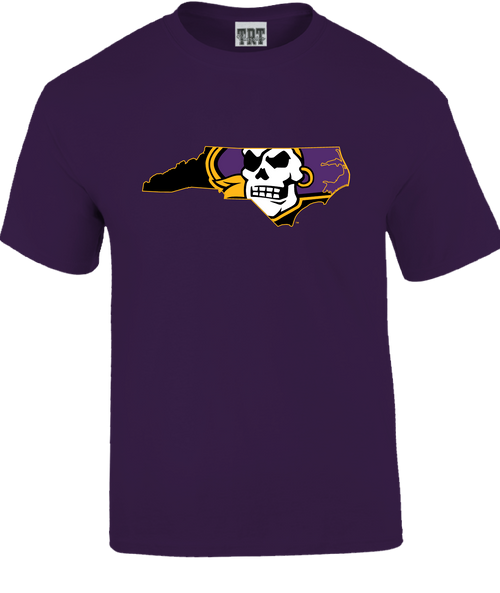 Purple Youth Pirate Nation Tee