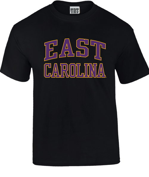 Black Youth East Carolina Arch Tee