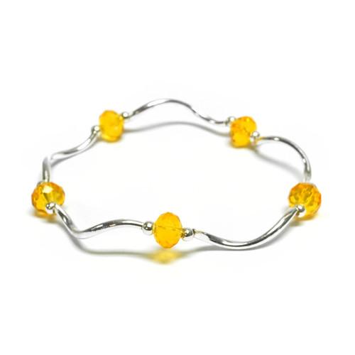 Gold & Silver Stackable Bracelet