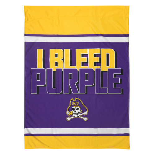 I Bleed Purple & Gold House Flag