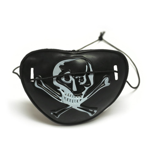 See-Through Pirates Eye Patch