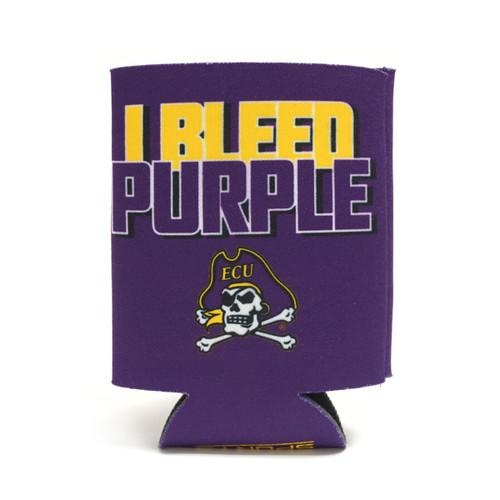 I Bleed Purple & Gold Koozie