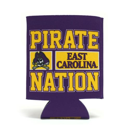 ECU Pirate Nation Jolly Roger Koozie