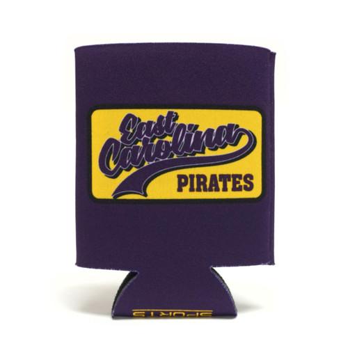 East Carolina Pirates Tails Patch Koozie