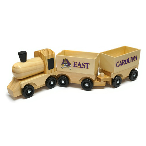 East Carolina Wooden Toy Train