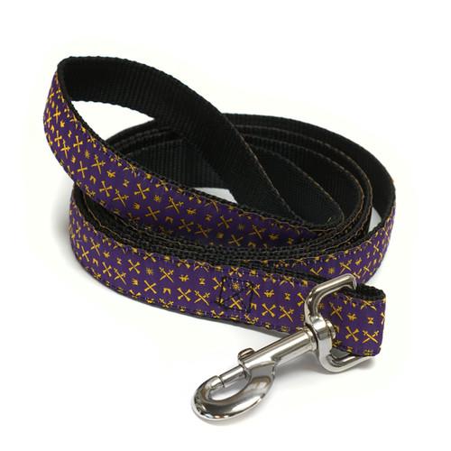 Purple ECU Icon Dog Leash