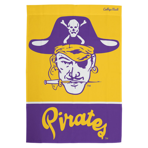 Vintage Vault Pirate Head & Pirates House Flag