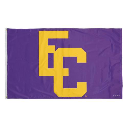 Purple Vintage Vault EC Flag