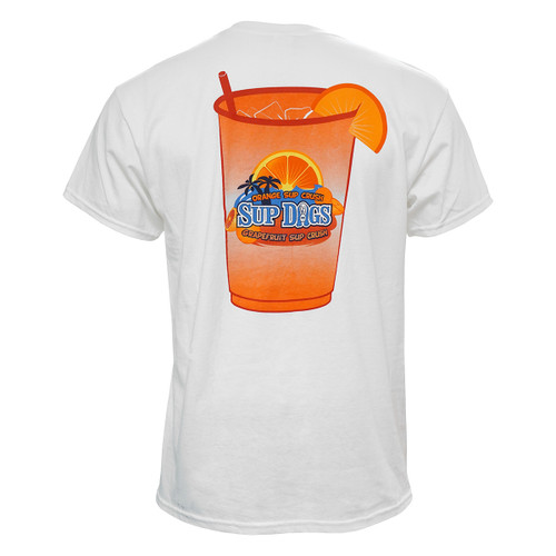 White Sup Dogs Sup Crush Tee