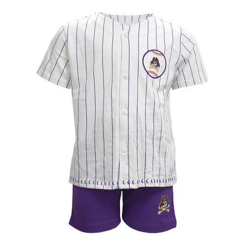 Toddler ECU Baseball Jersey Set
