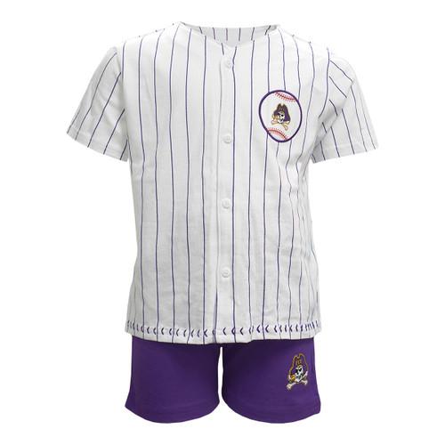 Toddler ECU Baseball Jersey Set