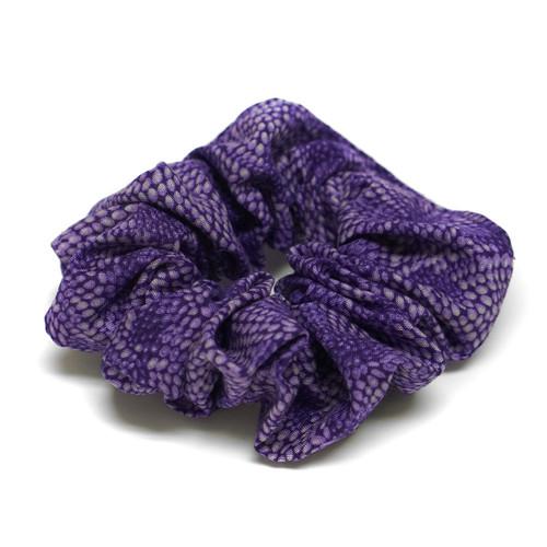 Purple Swirl Pattern Scrunchie