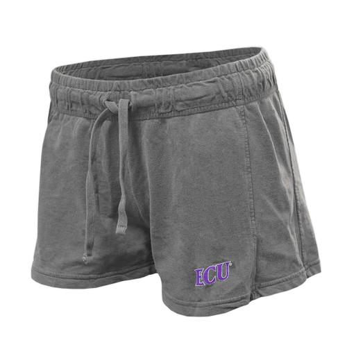 Grey Ladies ECU Shorty Shorts