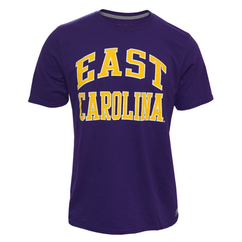 Purple East Carolina Arch Tee