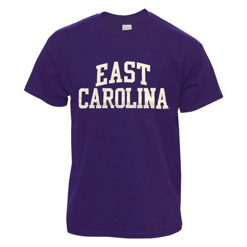 Lilac Purple East Carolina Rainbow Tee