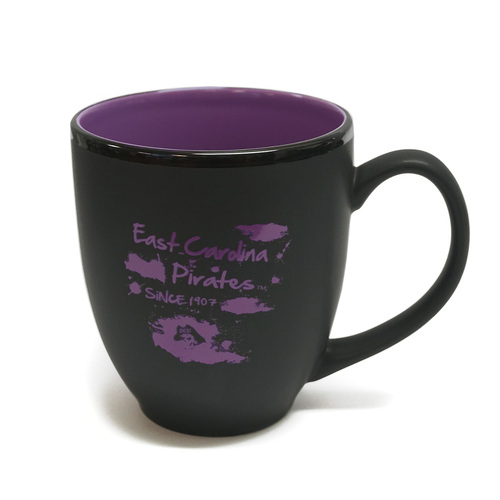 Black & Purple Bistro ECU Splatter Mug