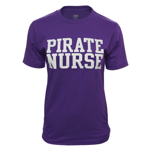 Purple Pirate Nurse Tee