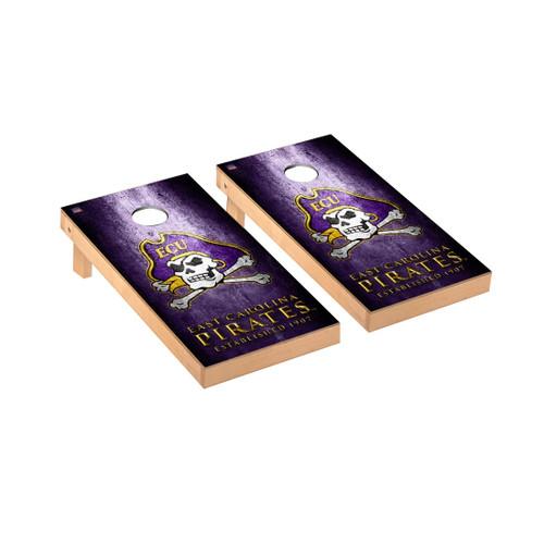 East Carolina Pirates Regulation Cornhole Game Set Museum Version