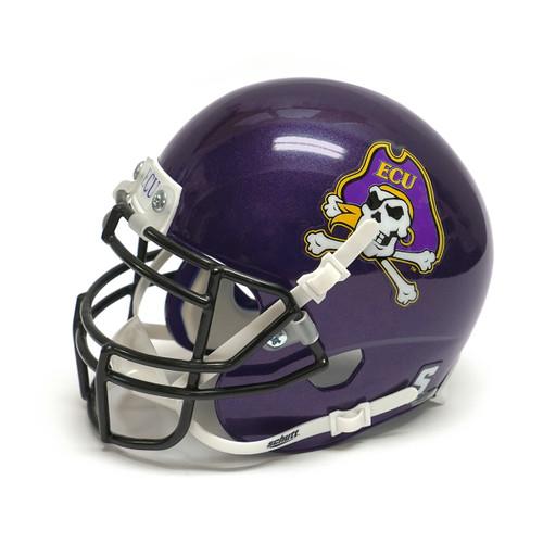 Purple Mini Jolly Roger Football Helmet