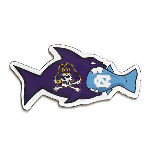 Rival Fish Magnet ECU vs. UNC