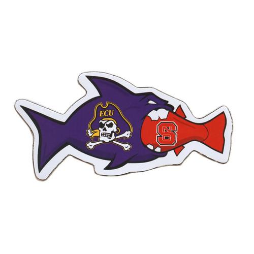 Rival Fish Magnet ECU vs. NC State