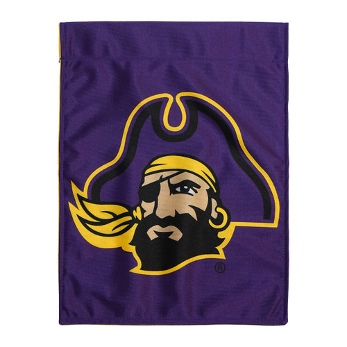 Two Faced Jolly Roger / Pirate Head Garden Flag