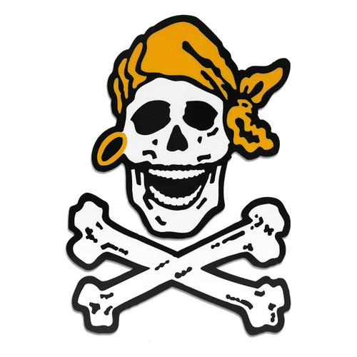 Skully Crossbones Decal