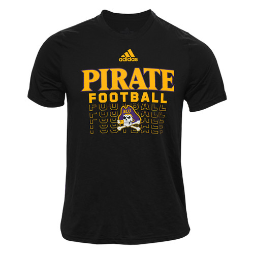 Black Adidas Pirate Football Creator Tee