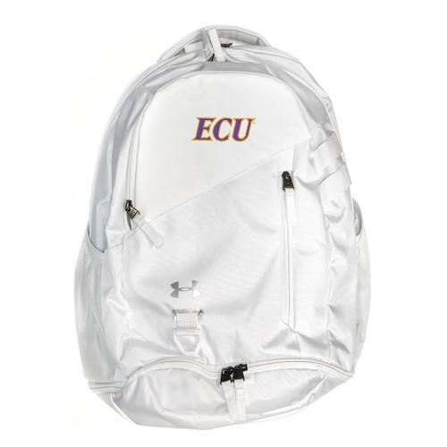 Silver White Hustle ECU Backpack
