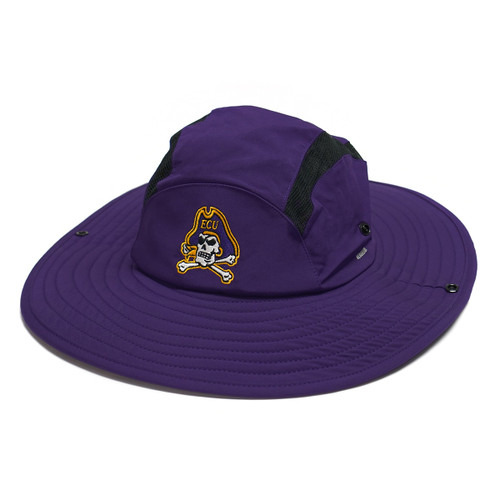 Purple Adidas ECU Safari Hat