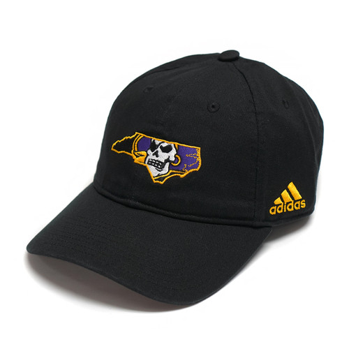Black Pirate State Of Mind Adjustable Adidas Cap