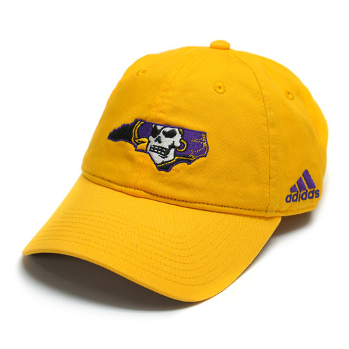 Gold Pirate Nation Adjustable Adidas Cap