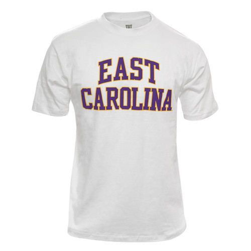 White East Carolina Two Color Arch Tee