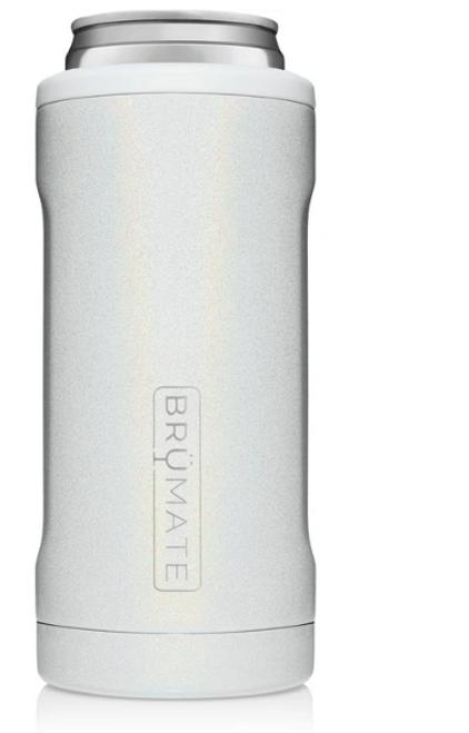 Brumate Hopsulator Slim Glitter White