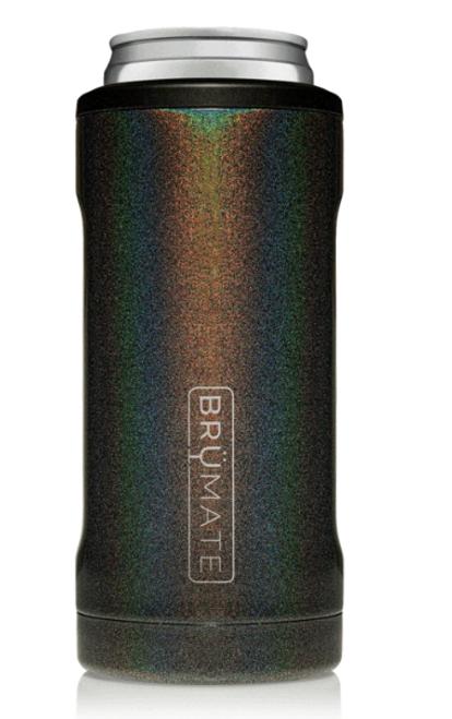 Brumate Hopsulator Slim Glitter Charcoal