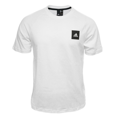 White & Black Adidas Jolly Roger Gameday Tee