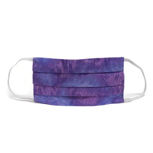Purple & Lavender Brush Stroke Face Mask