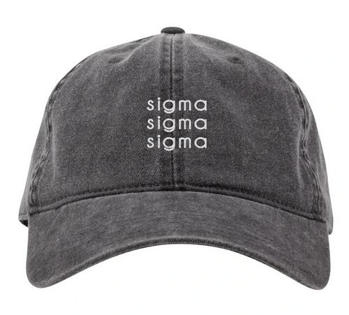 Greek Dark Grey Cap