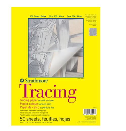 Strathmore Tracing Pad 9x12