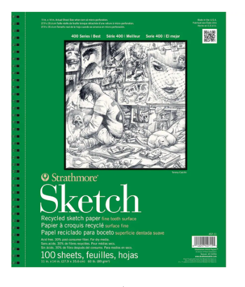 Strathmore Sketchbook 11X14