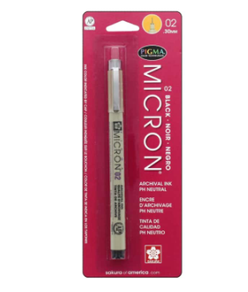 02 .30 mm Micron Pen