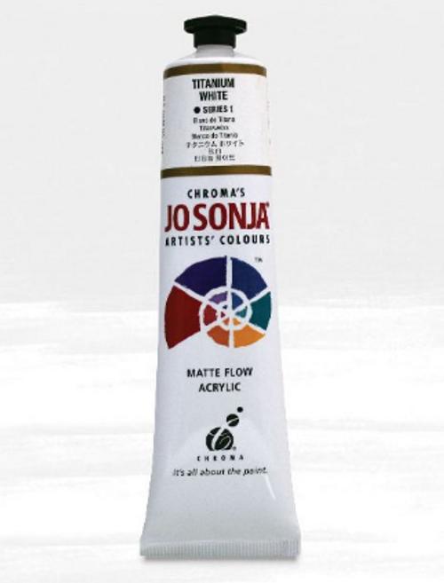 Jo Sonja Titanium White Acrylic Paint