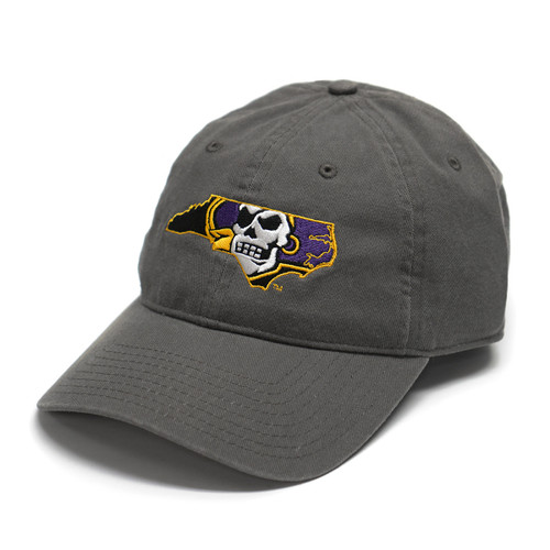 Charcoal Pirate Nation Adjustable Cap