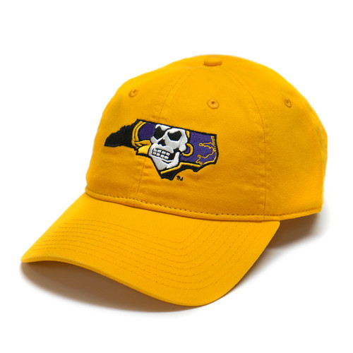 Gold Pirate State Of Mind Adjustable Cap