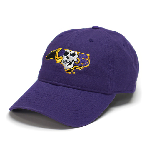 Purple Pirate Nation Adjustable Cap