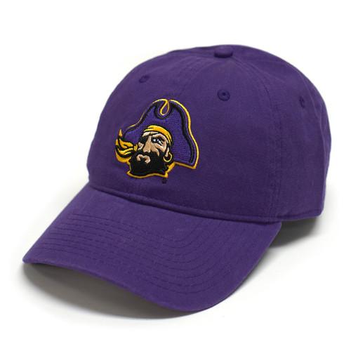 Purple Pirate Head Adjustable Cap