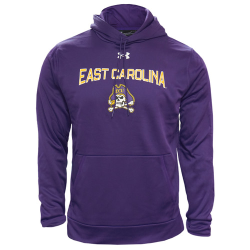 Purple Under Armour East Carolina Athletic Hoodie