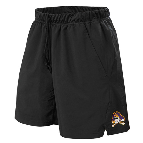 Black Adidas Jolly Roger First Round Athletic Shorts